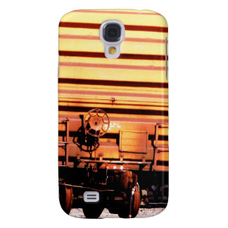 Rusty Railroad Train Box Car Galaxy S4 Covers