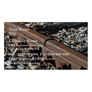 Rusty rails business cards