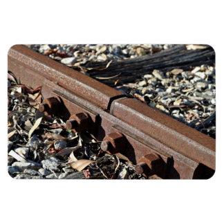 Rusty rails flexible magnet