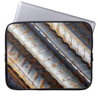 Rusty Rebar Neoprene Laptop Sleeve