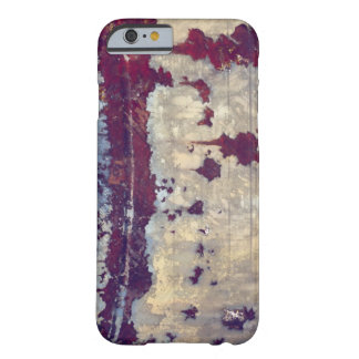 Rusty red corroded metal texture barely there iPhone 6 case