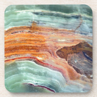 Rusty Sagey Minty Quartz Coaster