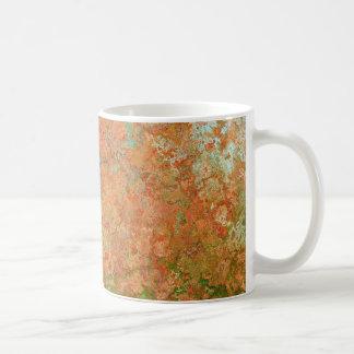 Rusty sheet coffee mug