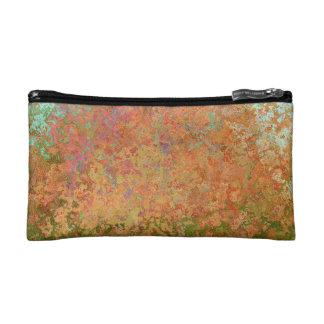 Rusty sheet cosmetic bag
