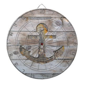 Rusty Ship Anchor Dartboard