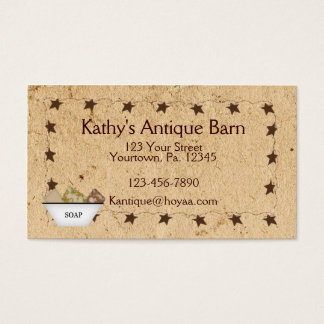 Rusty Stars & Soap Business Card