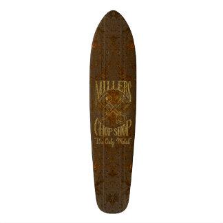 Rusty Steel Logo with Rivets Skate Decks