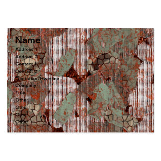 Rusty texture business cards