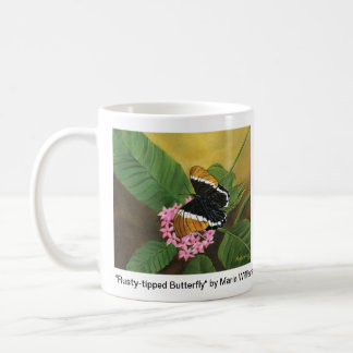 Rusty-tipped Butterfly Mug II by Maria Williams