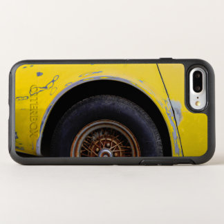 Rusty Tire, Peeling Yellow Painted Car OtterBox Symmetry iPhone 7 Plus Case