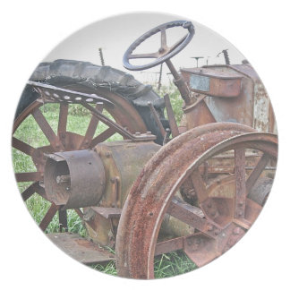 Rusty Tractor Plates
