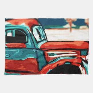 Rusty Truck Tea Towel