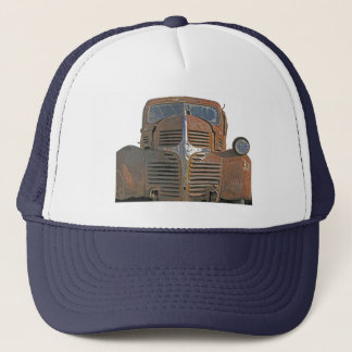 Rusty Truck Trucker Hat