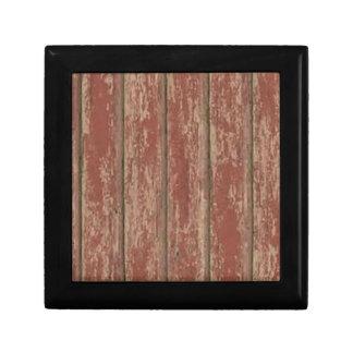 Rusty Weathered Board Gift Box
