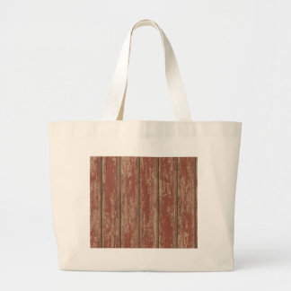 Rusty Weathered Board Large Tote Bag