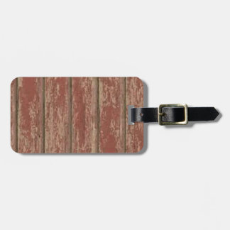 Rusty Weathered Board Luggage Tag