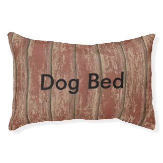 Rusty Weathered Board Pet Bed