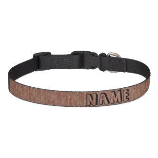 Rusty Weathered Board Pet Collar