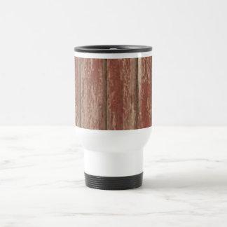 Rusty Weathered Board Travel Mug