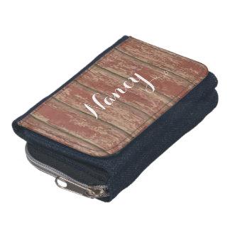 Rusty Weathered Board Wallets