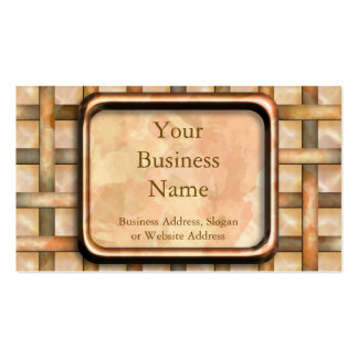 Rusty Weave Business Cards