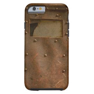 Rusty welding helmet tough iPhone 6 case