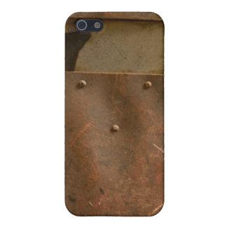 Rusty welding helmet iPhone 5/5S cover