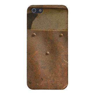 Rusty welding helmet iPhone 5 covers