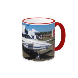 Rutan Pusher Airplane Ringer Mug