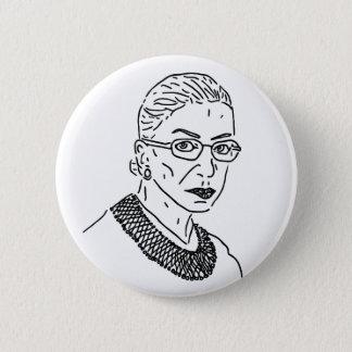 Ruth Bader Ginsburg RBG Pin