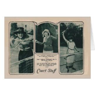 Ruth Roland 1922 vintage portrait card tennis