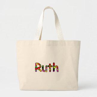 Ruth white tote bag