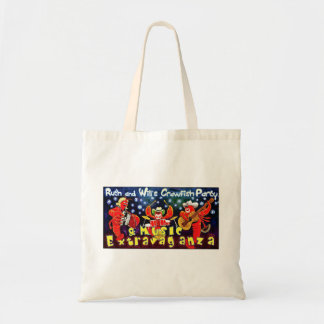 Ruth & Will's Crawfish Party tote bag