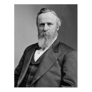 Rutherford B. Hayes Postcard