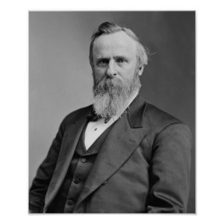 Rutherford B. Hayes Poster