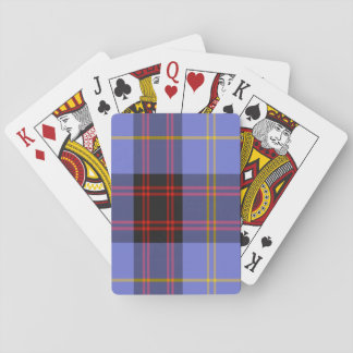 Rutherford Scottish Tartan Playing Cards