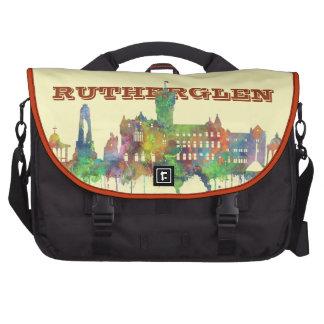 RUTHERGLEN, SCOTLAND SKYLINE LAPTOP MESSENGER BAG