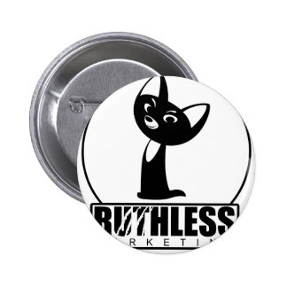 Ruthless Marketing gear featuring Ruthless Kitty Pins