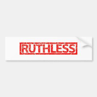 Ruthless Stamp Bumper Sticker