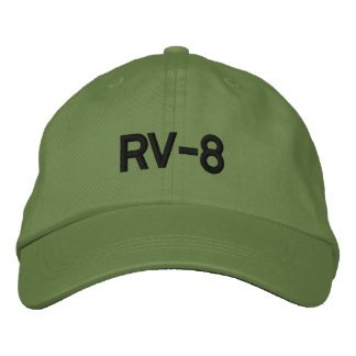 RV-8 EMBROIDERED HAT