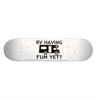 RV Having Fun Yet Funny Wordplay 20 Cm Skateboard Deck