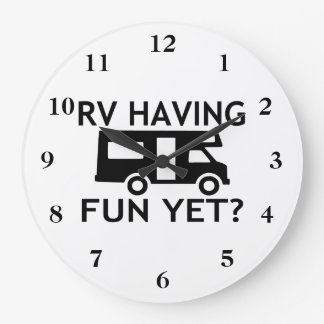 RV Having Fun Yet Funny Wordplay Clocks