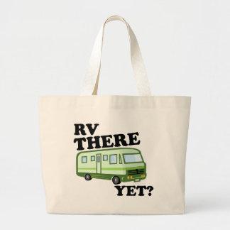 RV THERE YET? (green) Jumbo Tote Bag