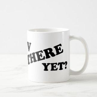 RV THERE YET? (white) Mug
