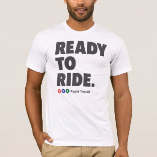 RVA Rapid Transit Ready to Ride T-Shirt