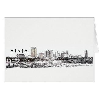 RVA Skyline Card