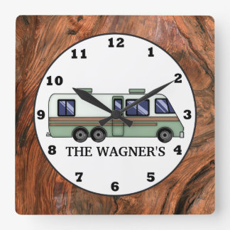 RVing add name wall clock