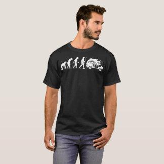 Rving Human Evolution Funny Tshirt