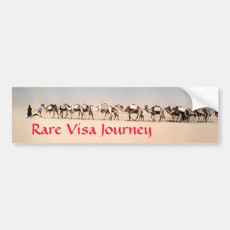 RVJ- Salt caravan in the Sahara Bumper Sticker