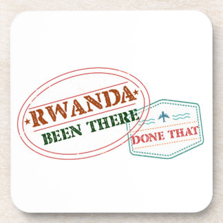 Rwanda Been There Done That Coaster